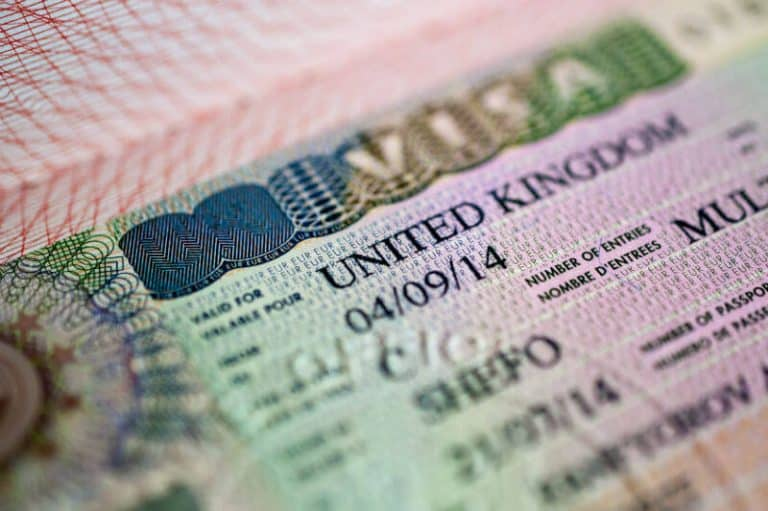 UK visa for Thai spouse