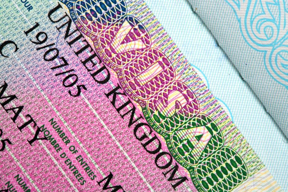 UK visa document checklist