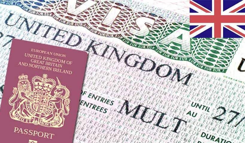 UK tourist visas frequency of visits