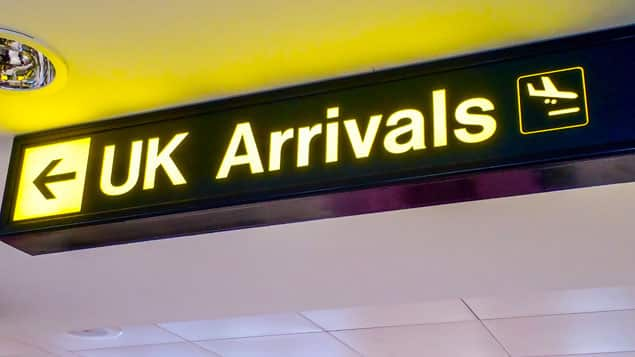 Thai wife visit the UK
