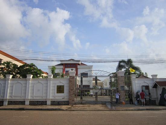 Thai Consulate Vientiane Laos