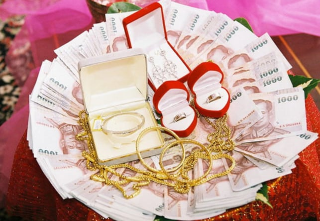 How Much Does a Dowry Cost in Thailand?